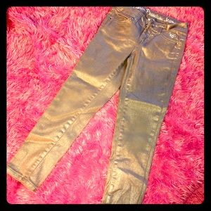 Justice Silver / Iridescent Jeans